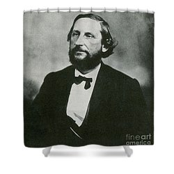 Judah P. Benjamin, Confederate Shower Curtain by Photo Researchers