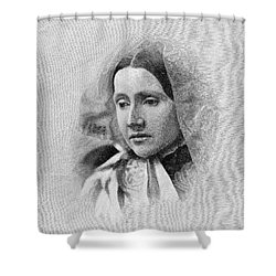 Julia Ward Howe (1819-1910) Shower Curtain by Granger