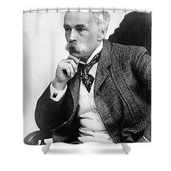 Julian Hawthorne (1846-1934) Shower Curtain by Granger