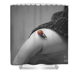 Just For A Moment Shower Curtain by Aimelle