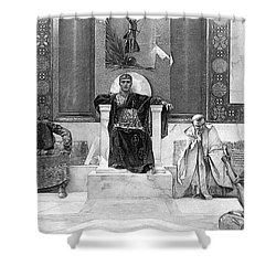 Justinian I (483-565) Shower Curtain by Granger