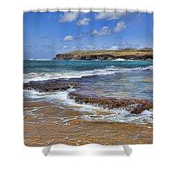 Kauai Beach 2 Shower Curtain by Kelley King