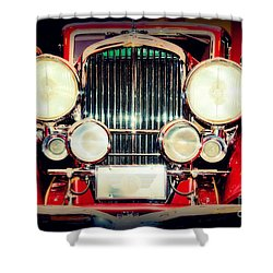King Of The Road Shower Curtain by Susanne Van Hulst