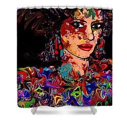 La Bella Shower Curtain by Natalie Holland