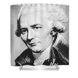 Laclos (1741-1803) Shower Curtain by Granger