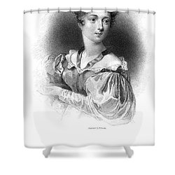 Lady Caroline Lamb Shower Curtain by Granger