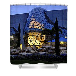 Lady In The Window Shower Curtain by David Lee Thompson