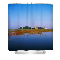 Ladys Island, Co Wexford, Ireland Shower Curtain by The Irish Image Collection