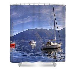 Lago Maggiore Shower Curtain by Joana Kruse