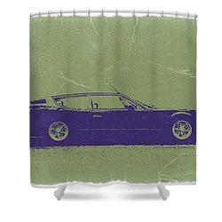 Lamborghini Espada Shower Curtain by Naxart Studio