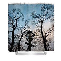 Lantern Shower Curtain by Konstantin Dikovsky