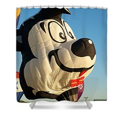 Lepew Shower Curtain by Mark Dodd