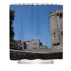 Lewes Castle Shower Curtain by Dawn OConnor
