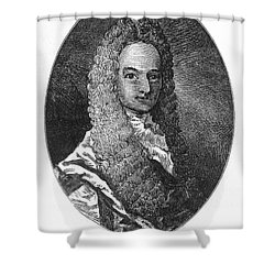 Lewis Morris (1671-1746) Shower Curtain by Granger