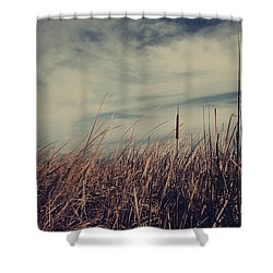 Like The Way You Used To Run Your Fingers Through My Hair Shower Curtain by Laurie Search