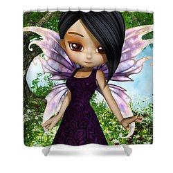 Lil Fairy Princess Shower Curtain by Alexander Butler