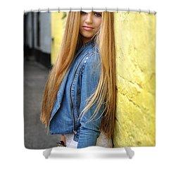 Liuda6 Shower Curtain by Yhun Suarez