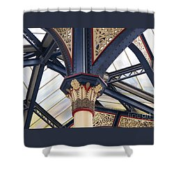 Liverpool Street Skylight Shower Curtain by Ann Horn