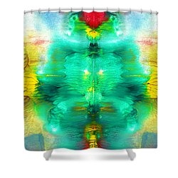 Living Form Shower Curtain by Sumit Mehndiratta
