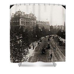 London: Embankment, 1908 Shower Curtain by Granger