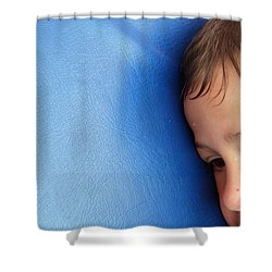 Lost In Thought Shower Curtain by Matthias Hauser