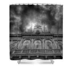 Loughborough Town Hall Shower Curtain by Yhun Suarez