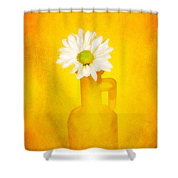 Love Me Love Me Not Shower Curtain by Darren Fisher