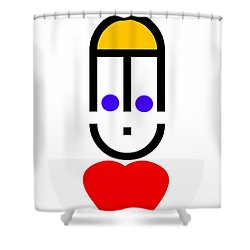 Love Note Shower Curtain by Charles Stuart