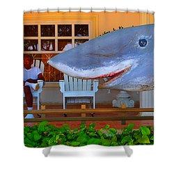 Mack De Cuchillo Shower Curtain by Skip Hunt