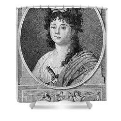 Mademoiselle Maillard Shower Curtain by Granger