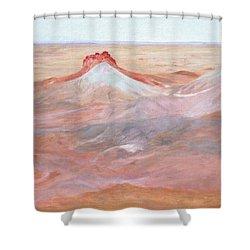 Magic Of The Breakaways 2 2012 Shower Curtain by Alex Mortensen