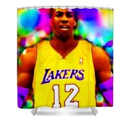 Magical Dwight Howard Laker Shower Curtain by Paul Van Scott