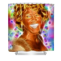 Magical Whitney Shower Curtain by Paul Van Scott