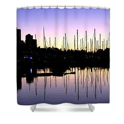 Magnificent Vancouver Sunset Shower Curtain by Will Borden