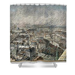 Manchester, England, 1876 Shower Curtain by Granger