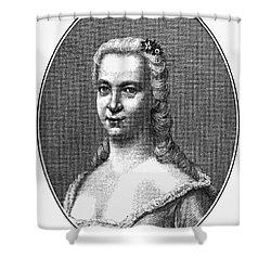 Margareta Moller Klopstock Shower Curtain by Granger