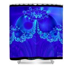 Marys Veil Fractal 60 Shower Curtain by Rose Santuci-Sofranko