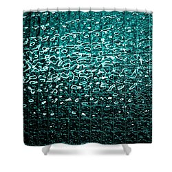 Matrix Shower Curtain by Leigh Meredith