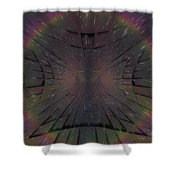Matrix Shower Curtain by Tim Allen