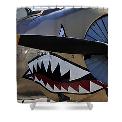 Mean Machine Shower Curtain by David Lee Thompson