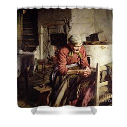 Memories Shower Curtain by Walter Langley