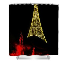 Merry Christmas ... Shower Curtain by Juergen Weiss