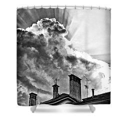 Mid Summer Evening Shower Curtain by Silvia Ganora