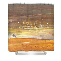 Midday 29 Shower Curtain by Miki De Goodaboom