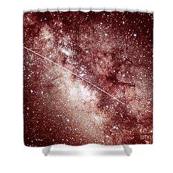 Milky Way In Sagittarius Shower Curtain by Science Source