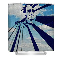 Mind Games Shower Curtain by Bill Cannon