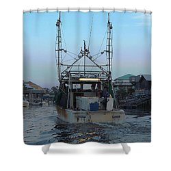 Miss Jerry's Shower Curtain by Marilyn Holkham
