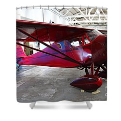 Monocoupe 110 . 7d11144 Shower Curtain by Wingsdomain Art and Photography