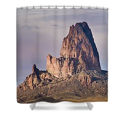 Monolith Shower Curtain by Mike Hendren