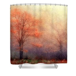 Moods Of Autumn Shower Curtain by Darren Fisher